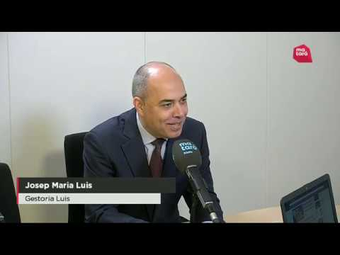 Entrevista a Pep Luis sobre la declaració de la renda