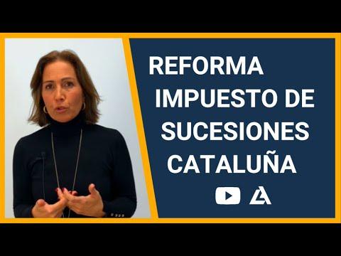 Reforma del impuesto de sucesiones en Cataluña. Como pagar menos. 👵🏽👴🏽
