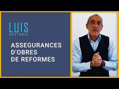 Assegurances d'obra per reformes 🛠 👷🏼♂️