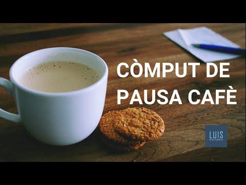 Com computa la pausa cafè en la jornada de traball ☕️