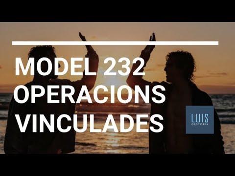 Model 232 Operacions Vinculades