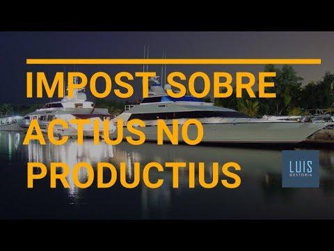 Impost sobre actius no productius - Tot el que has de saber