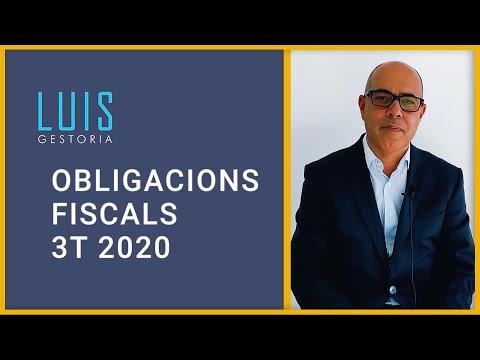 Obligacions fiscals 3T 2020 💶