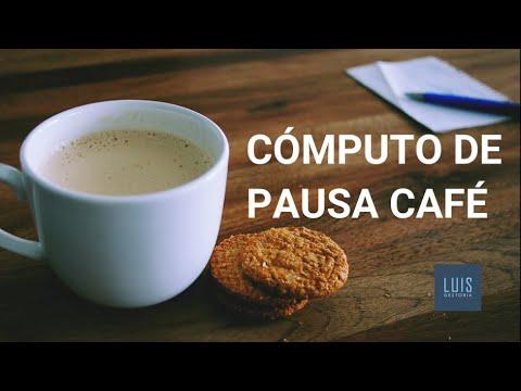 Cómo computa la pausa café en la jornada de trabajo ☕️
