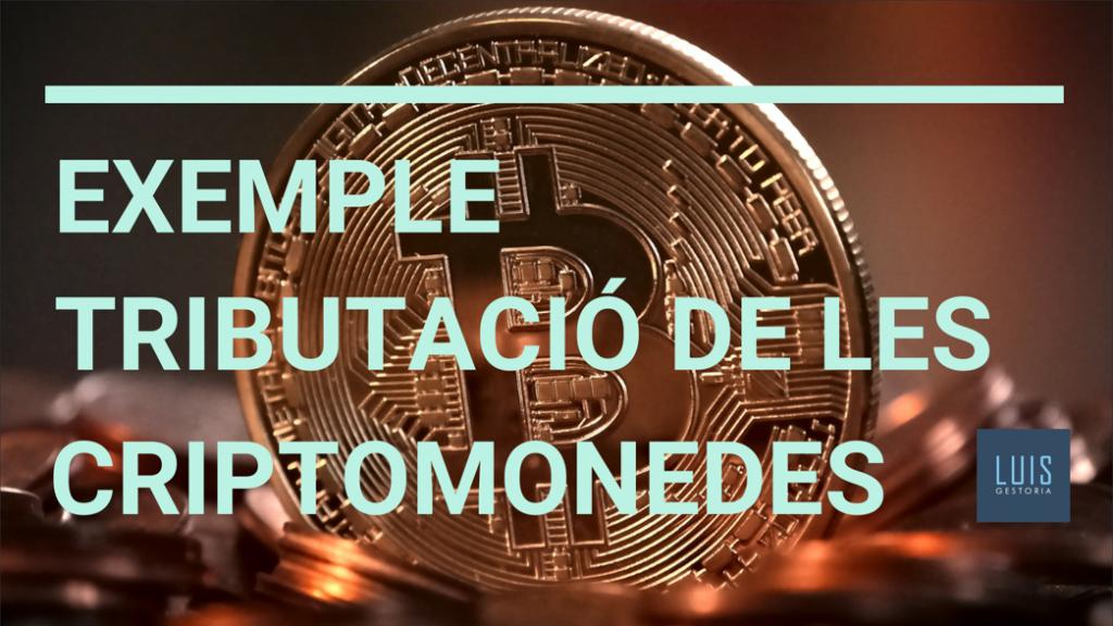 EXEMPLE TRIBUTACIÓ DE CRIPTOMONEDES