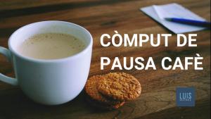 pausa cafè a la jornada de treball
