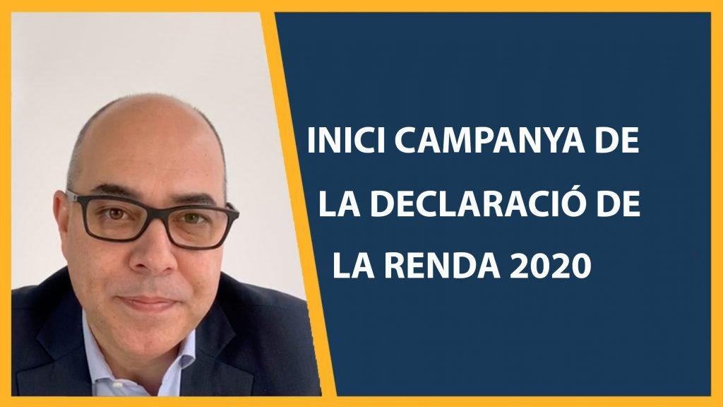 Campanya declaracio de la renda 2020