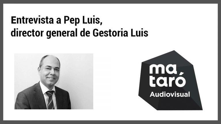 entrevista a Pep Luis pel covid-19