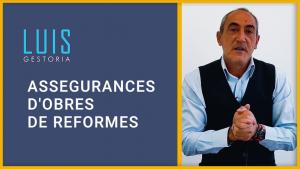 assegurances d'obres de reformes